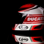 Studio Shoot Ducati helmet